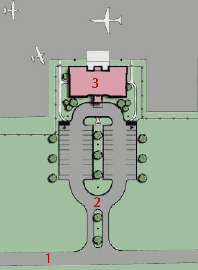 Madison County Executive Airport Terminal Site Plan (660x900)