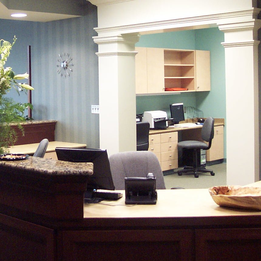 Whitesburg Medical Office Building Front Desk (860x860)